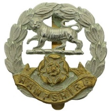 Image result for WW! hampshire regt badge