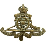 Image result for royal artillery badge ww1